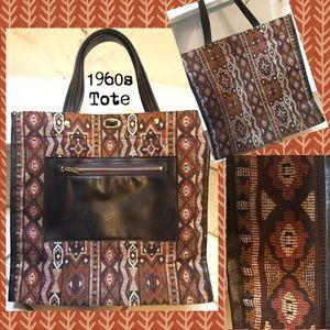 Handbags - 1960s True Unique Vintage Tote Bag
